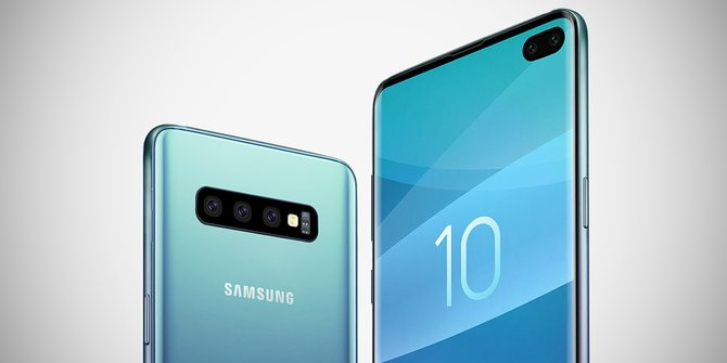 Samsung Galaxy S10 and Galaxy S10+
